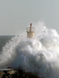 Stormy wave Royalty Free Stock Images