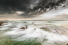 Stormy Waves at Phillip Island Royalty Free Stock Image