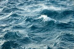 Stormy Waves Royalty Free Stock Photography