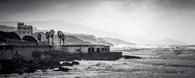 Stormy weather in Alghero. Italy Stock Photography