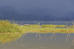 Stormy Weather At Lake Bosumtwe Stock Images