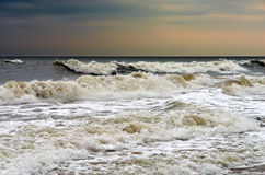 Stormy weather, Atlantic ocean Royalty Free Stock Photography