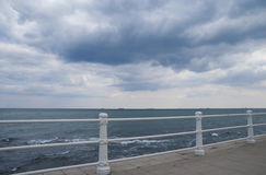 Stormy weather at the Black Sea Stock Photography