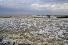 Stormy weather at the Black Sea Stock Photos