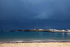 Stormy weather and clouds Stock Images