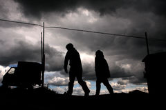 Stormy weather Stock Photography