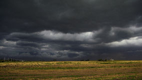 Stormy Weather. Dark clouds before severe weather Stock Photos
