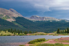 Free Stormy Weather In The Mountains Royalty Free Stock Photography - 6080837