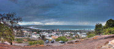 Stormy weather over Ventura Stock Photography