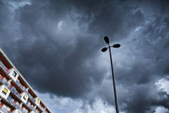 Stormy weather Stock Image