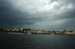 Stormy weather Stock Images