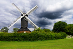 Stormy Windmill Stock Photos