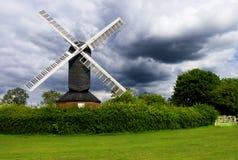 Stormy Windmill Stock Photos