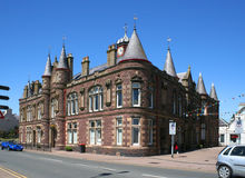 Stornoway town hall Stock Photography