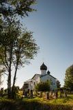 Старая русская церковь в Storojno Стоковые Изображения