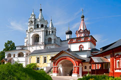storozhevsky修道院的savvino 免版税库存照片