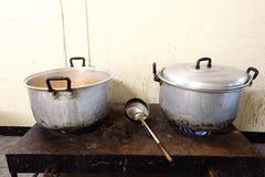 Storpamp två för industriella & kommersiella Kitch för kökrestaurang Arkivfoto