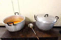 Storpamp två för industriella & kommersiella Kitch för kökrestaurang Arkivfoton