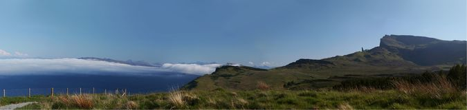 storr skye зиги острова Стоковое фото RF