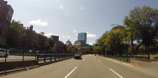 Storrow Drive, Boston, MA. Royalty Free Stock Photography