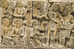 Storry of buddha Stock Photos