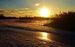 Storslagen ö av Nebraska Royaltyfria Bilder