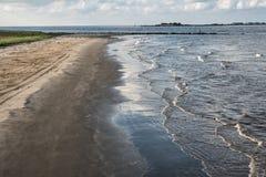 Storslagen ö, Jefferson Parish, Louisiana Arkivbilder