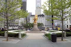 Storslagen arméPlaza, New York City Royaltyfria Foton