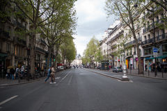 Storslagen aveny i paris Fotografering för Bildbyråer