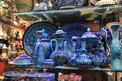 Storslagen basar Istanbul Royaltyfri Fotografi