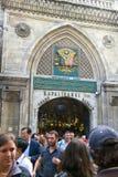 Storslagen basar, Istanbul, Turkiet, loppdestination Arkivfoto