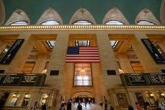 Storslagen central terminal, New York City Fotografering för Bildbyråer