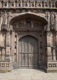 Storslagen dörröppning Arkivbilder
