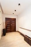 Storslagen design - korridor fotografering för bildbyråer
