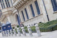 Palais storslaget Ducal i Luxembourg Arkivfoton