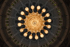 storslagen enorm sultan för lystermoskéqaboos Royaltyfri Fotografi