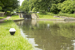 Storslagen facklig kanal, Hertfordshire UK Royaltyfri Fotografi