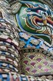 Storslagen framsida för slottdemonvakter Royaltyfri Foto