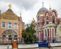Storslagen hertiglig kyrka Yelets stad Royaltyfria Foton