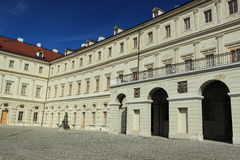 Storslagen hertiglig slott i Weimar Royaltyfri Fotografi