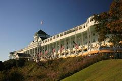 storslagen hotellömackinac michigan royaltyfri bild