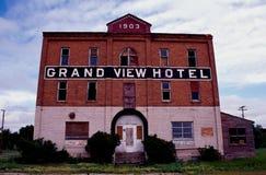 storslagen hotellsikt Arkivbild