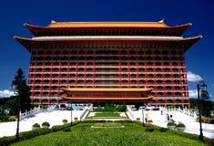 storslagen hotellslott taiwan Arkivbild