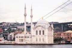 Storslagen imperialistisk mosk? av Sultan Abdulmecid royaltyfri bild