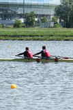 storslagen internationell moscow regatta Arkivbild