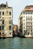 storslagen italy för kanal plats venice Arkivbild