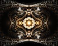 Storslagen julian fractal vektor illustrationer