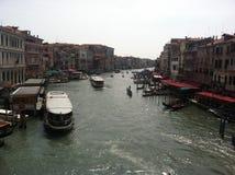 Storslagen kanal Royaltyfria Foton