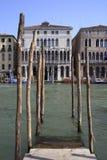 Storslagen kanal i Venedig Arkivbild