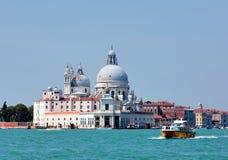 Storslagen kanal, Venedig Royaltyfri Foto